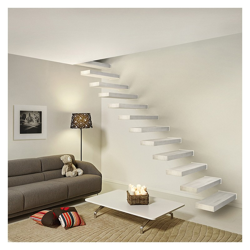 escalier suspendu fontanot wall escalier flottant en kit. Black Bedroom Furniture Sets. Home Design Ideas