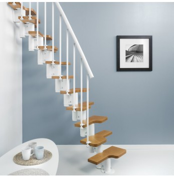 Escalier à pas décalés Fontanot Magia 30