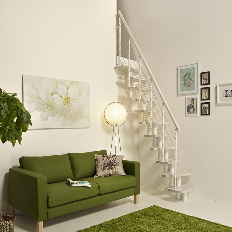 escalier en kit pas japonais fontanot zen sp cial petits espaces. Black Bedroom Furniture Sets. Home Design Ideas