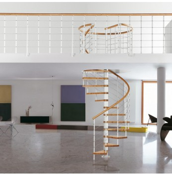 Escalier colimaçon Fontanot Genius T10