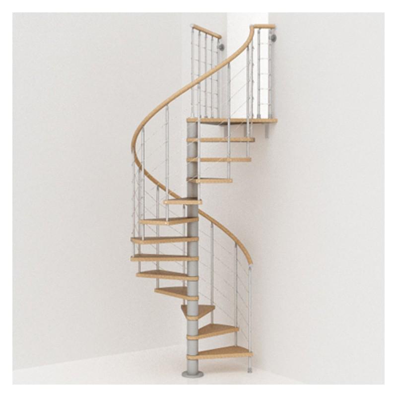 Escalier colima on rond en kit fontanot genius t040 - Dimension escalier colimacon ...