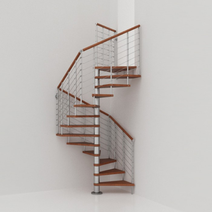 Escalier Colimacon Carre Fontanot Genius Q50a Special Tremies Carrees