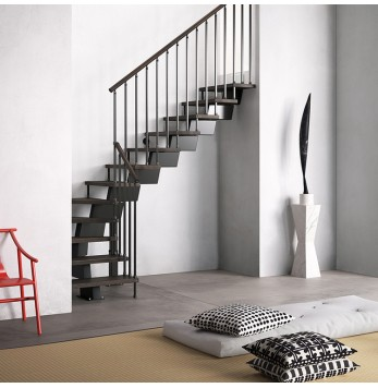 Escalier droit ou quart tournant Fontanot Genius RA020