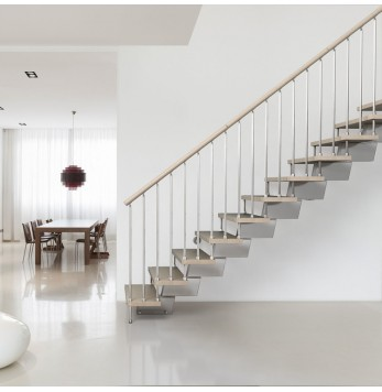 Escalier à volée Fontanot Genius RA030