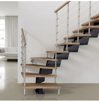 Escalier droit ou quart tournant Fontanot Genius RA040