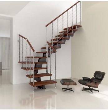 Escalier droit ou quart tournant Fontanot Genius RA050