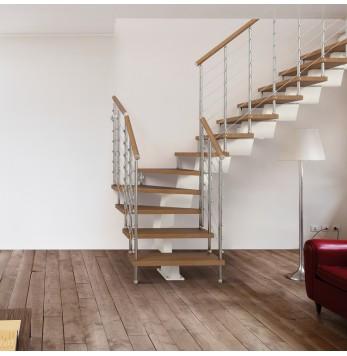 Escalier droit ou quart tournant Fontanot Genius RA050A