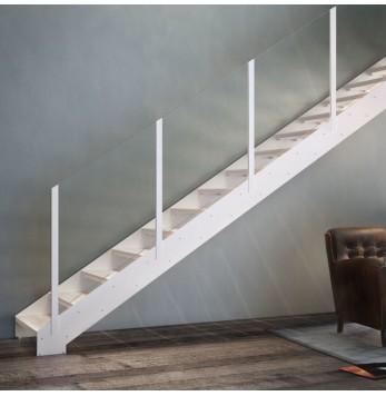 Escalier droit ou quart tournant Fascia 080
