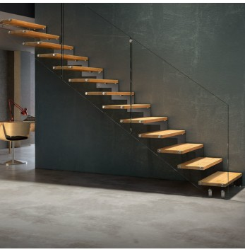 Escalier crémaillère Fulmine 090