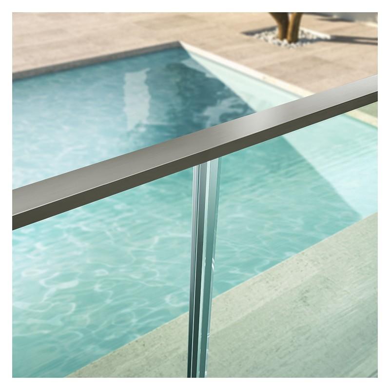 Balustrade fontanot glass 50 balustrade en verre pose for Balustrade en verre exterieur
