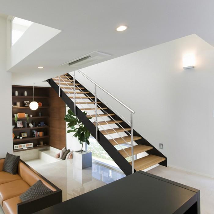 Escalier à volée Fascia / Fulmine 050