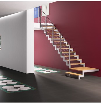 Escalier à volée Fascia / Fulmine R120B