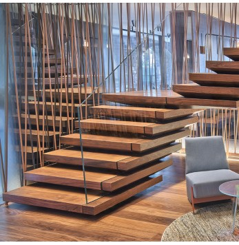 Escalier d'exception accès public ou privé Fontanot Contract