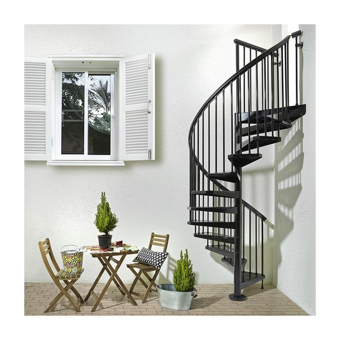 Escalier colimaçon Fontanot Arke Sky030