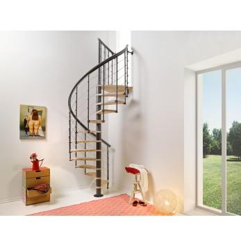 Escalier colimaçon Nice Line Gris fonte