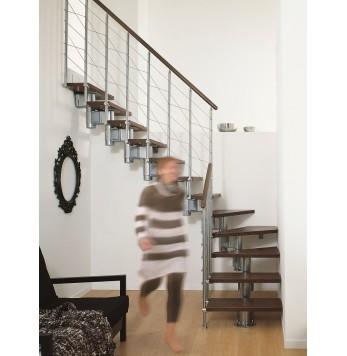 Escalier droit ou quart tournant Elégance RA 010 Initial
