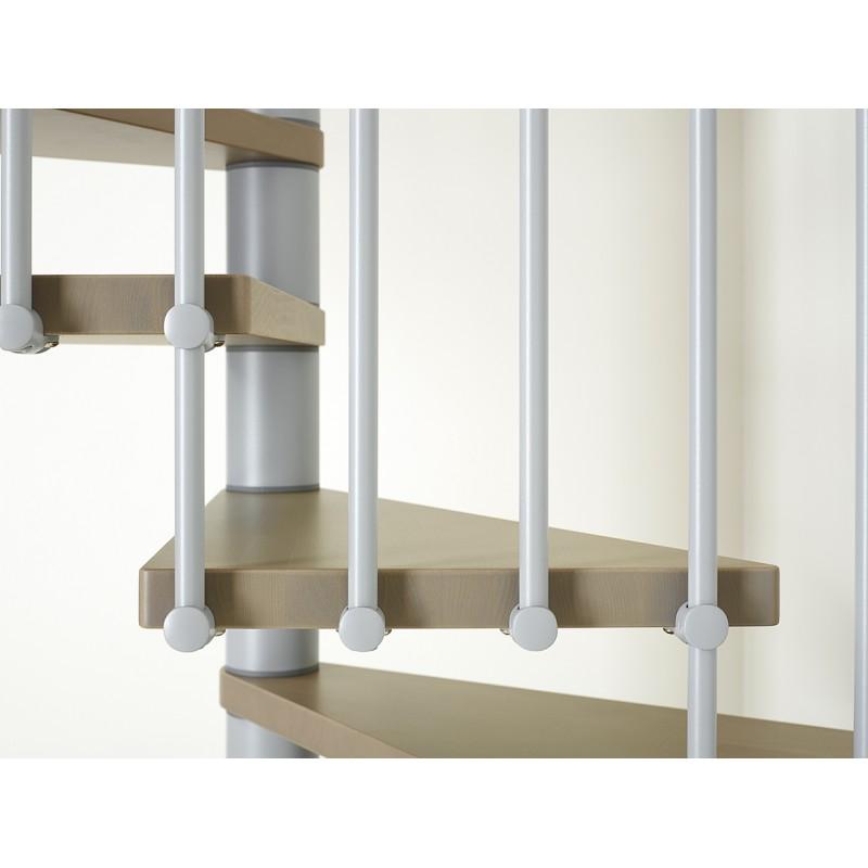 escalier colima on carr en kit fontanot elegance bois et m tal. Black Bedroom Furniture Sets. Home Design Ideas