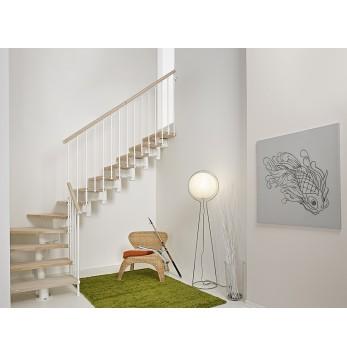 Escalier droit ou quart tournant Elégance RA 030 Premium