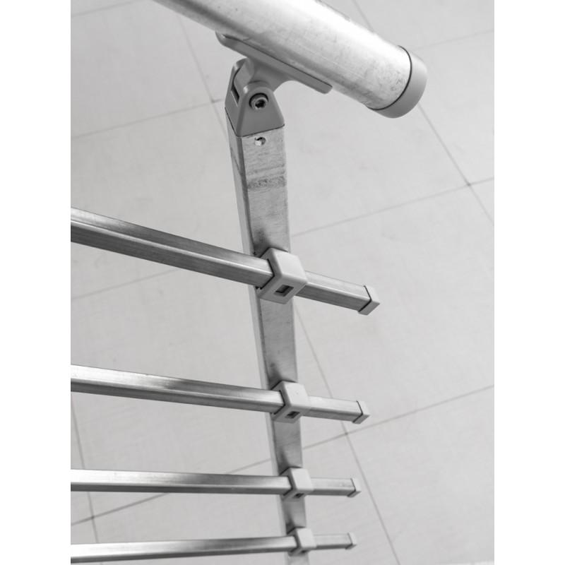 Escalier Exterieur En Acier Galvanise Pop Zink Montage Facile