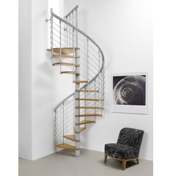 Escalier colimaçon Nice Line Gris clair