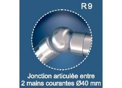 Raccord main courante réglable pour Rondo Alu