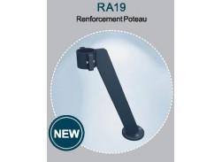 Pied de renforcement Rondo RAL7016