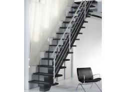 Escalier limon central Sogem Gomera hauteur standard