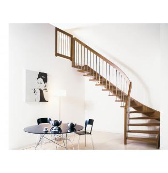 Escalier droit ou quart tournant Oxa Air