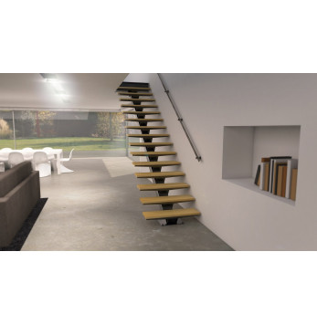 Escalier Limon central ATELIER