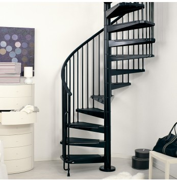 escaliers en kit l 39 escalier contemporain. Black Bedroom Furniture Sets. Home Design Ideas