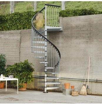 Escalier colimaçon Civik Zink Arké