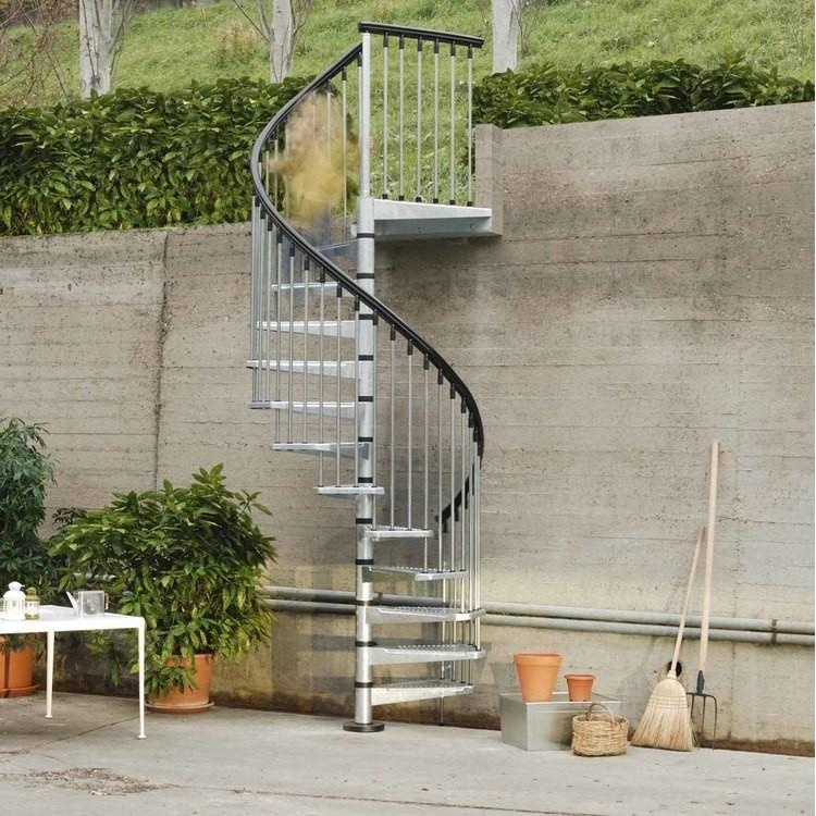 Escalier colimaçon Arke Civik Zink