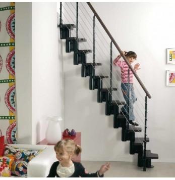 Escalier à pas décalés Fontanot Arke Kya