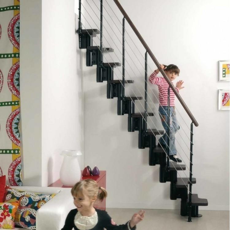 Escalier à pas décalés Kya