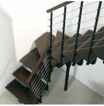 Escalier droit et 1/4 tournant Komoda Arke