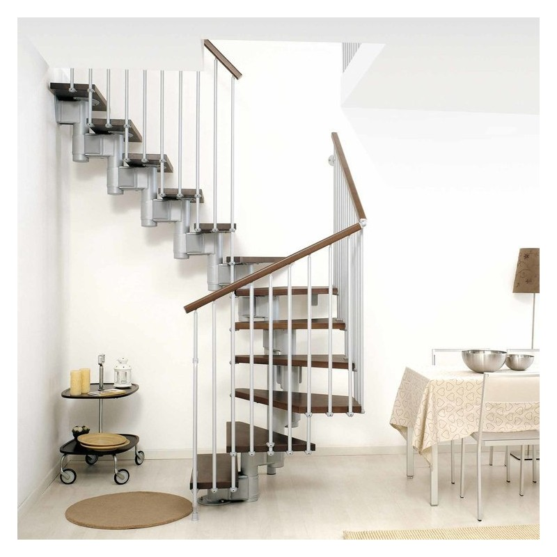 escalier vol e fontanot ark kompact en kit escalier. Black Bedroom Furniture Sets. Home Design Ideas