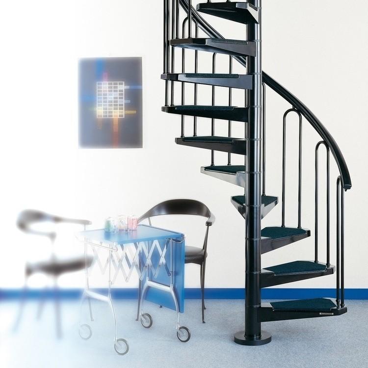 Escalier colimaçon Ivy Métal