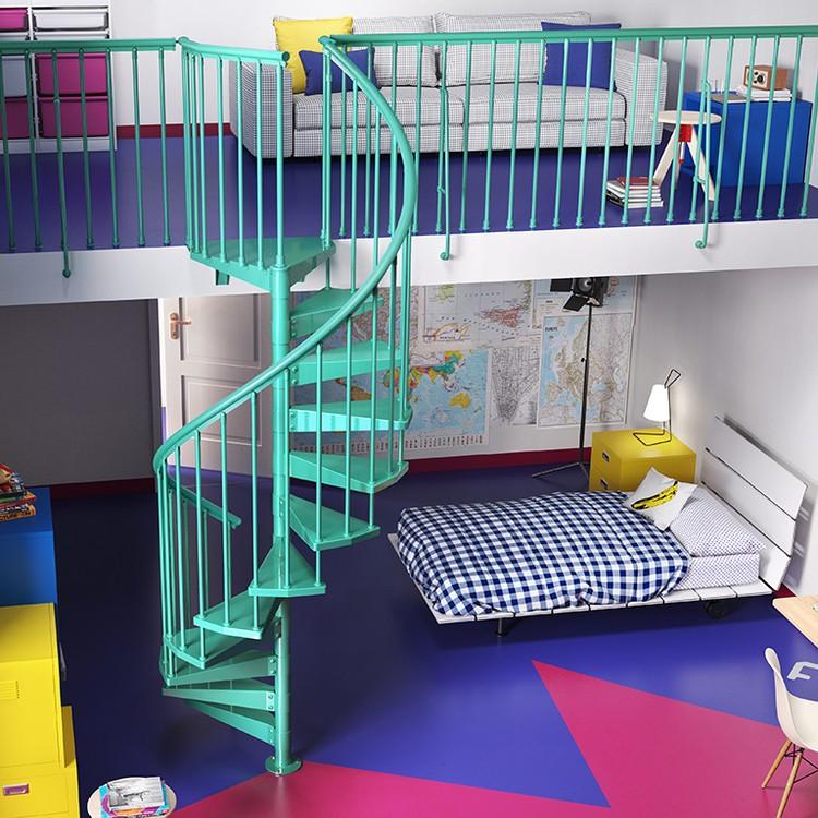 Escalier colimaçon Clip