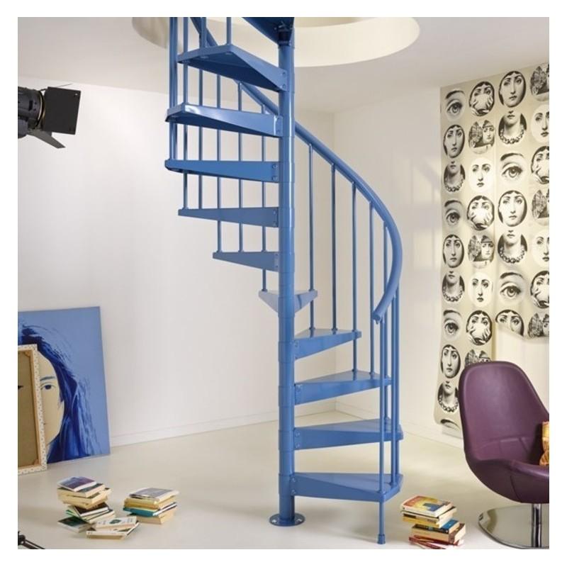 Escalier colima on fontanot clip escalier tout m tal diam tre 120 cm - Escalier helicoidal diametre 100 ...