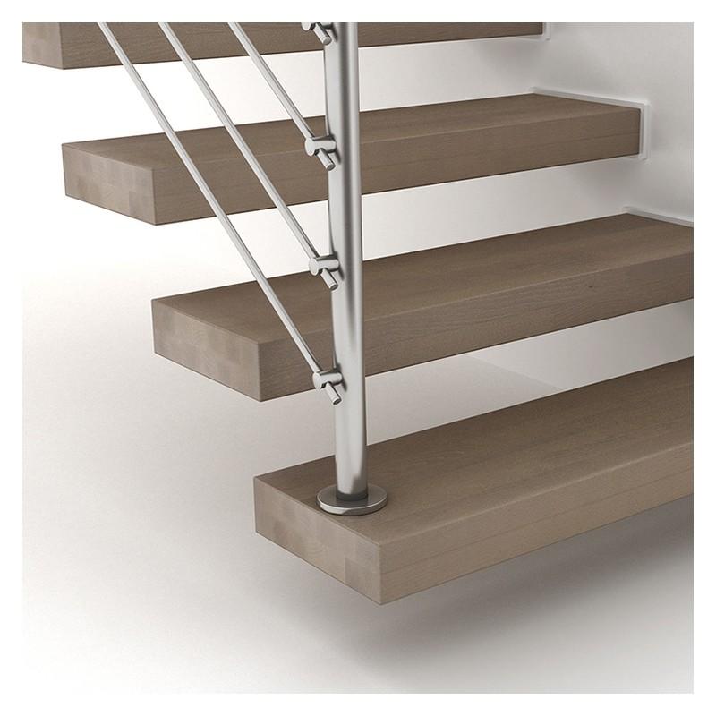 Escalier suspendu fontanot wall escalier flottant en kit - Escalier en apesanteur ...