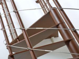 escalier colimaçon métal Fitness