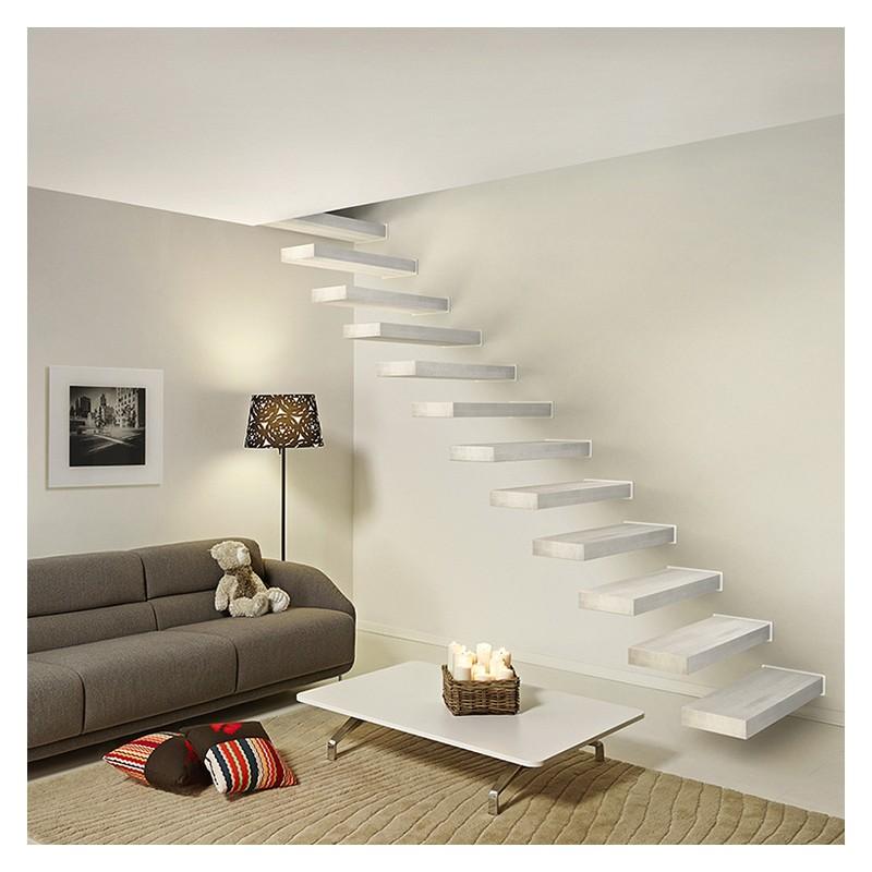 que choisir un escalier avec ou sans contremarches go up. Black Bedroom Furniture Sets. Home Design Ideas