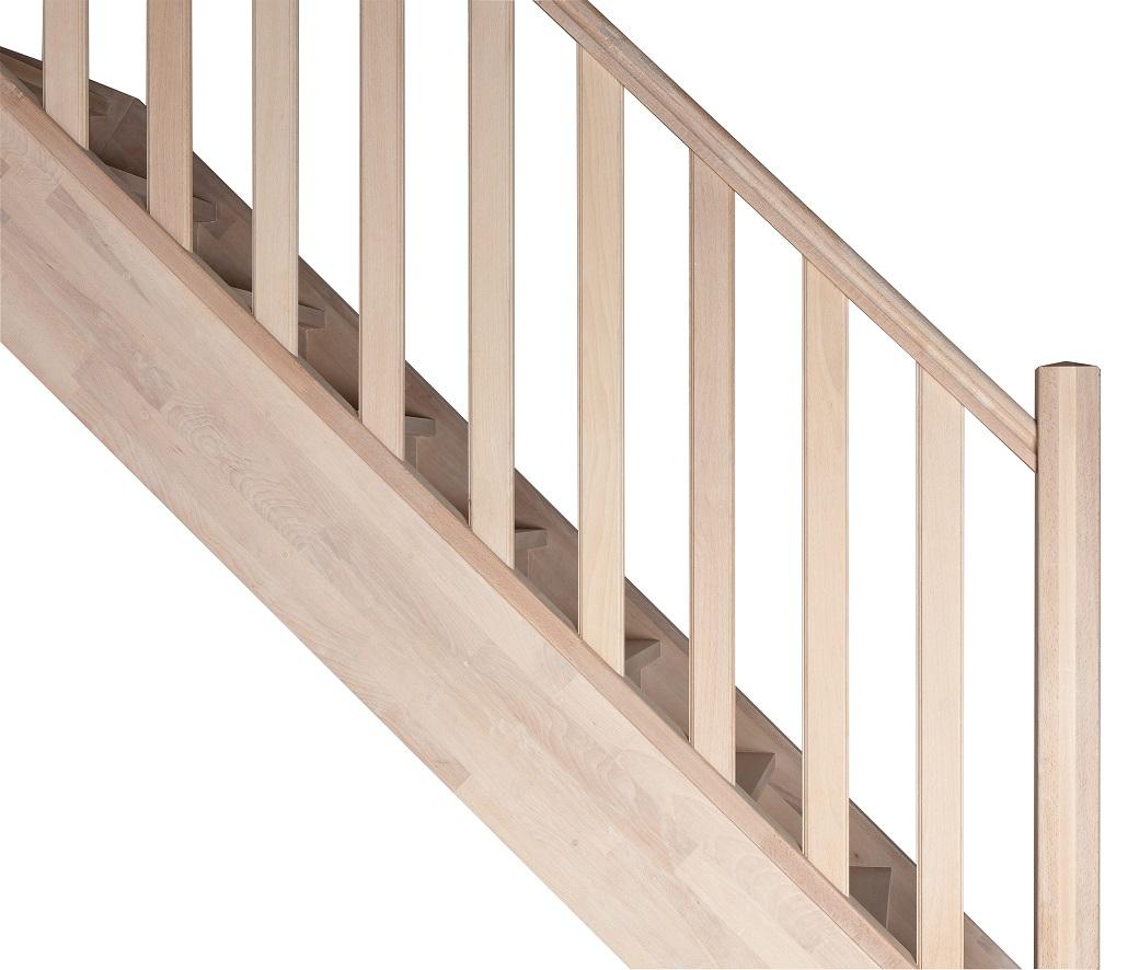 Huile Pour Escalier Hetre escalier sur mesure bois gand avec garde-corps moulurée