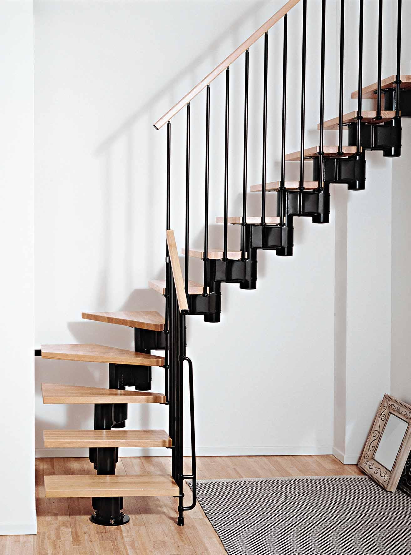 escaliers en kit et sur mesure l 39 escalier contemporain. Black Bedroom Furniture Sets. Home Design Ideas